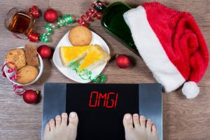 overeating at Christmas