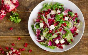 Pomegranate Christmas Salad