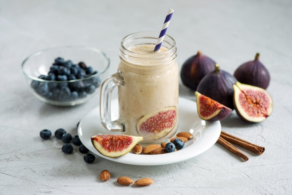 Fig Smoothie to help Boost Fertility
