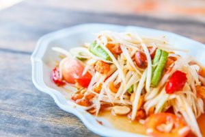 Green Papaya Salad - The Perfect Meal To Build Your Immune System