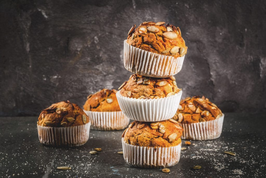 Spiced Pumpkin Muffins - Improving your Immunity