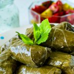 Stuffed Grape Vine Leaves