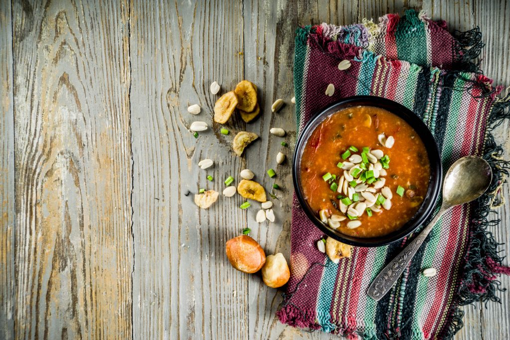 African Peanut and Taro Stew – A fantastic Plant Based Eating Stew
