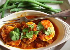 Spicy Egg Curry- a tasty way to Fight Stress and Anxiety