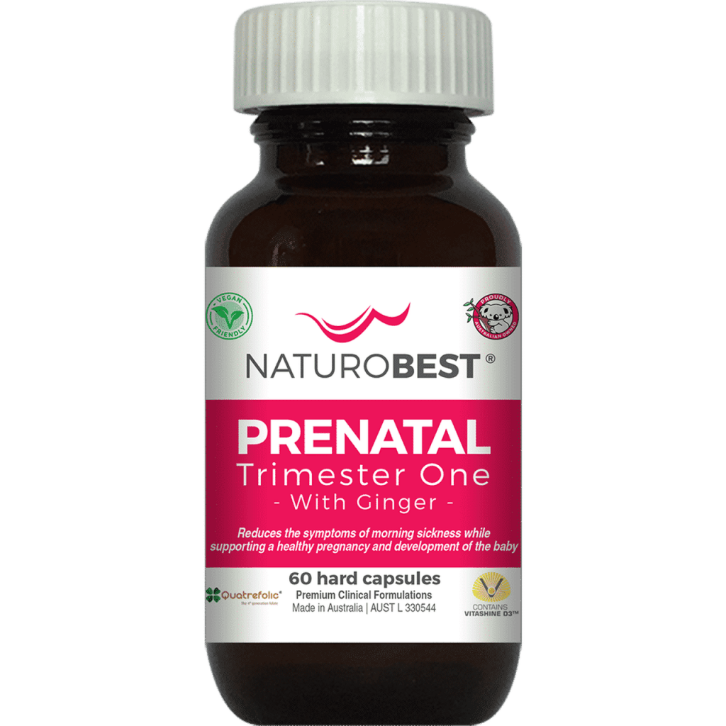 PreNatal Trimester One with Ginger by Naturobest
