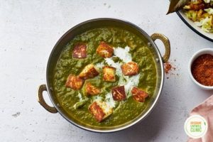 Fighting Menopause Symptons with this Tasty Tofu & Spinach Curry