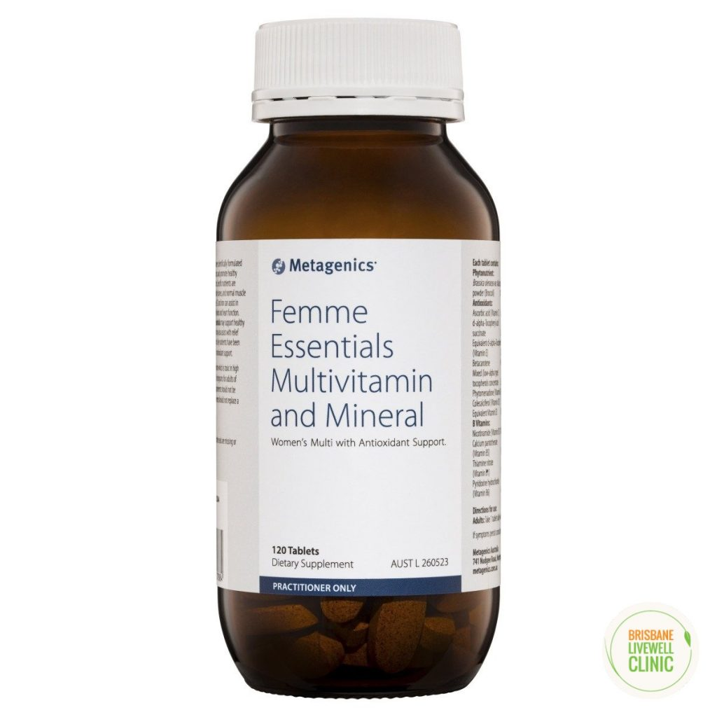 Femme Essentials Multivitamin and Mineral by Metagenics